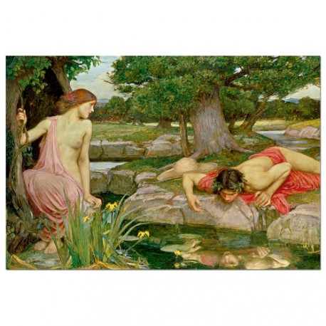 Eco y Narciso, J.W. Waterhouse