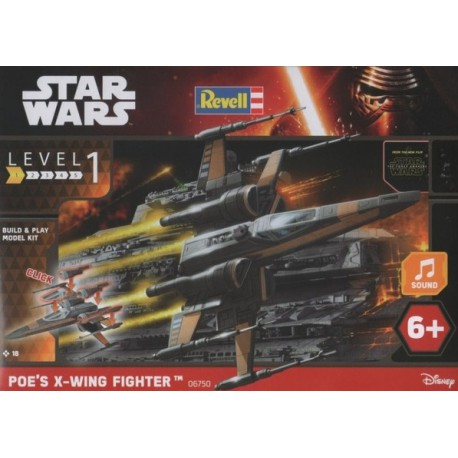REVELL X-WING FIGHTER POE´S