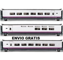 Electrotren HO Set 3 coches Euromed S-101