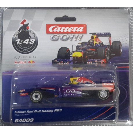 Carrera Go Infiniti RB9 Red Bull 64009