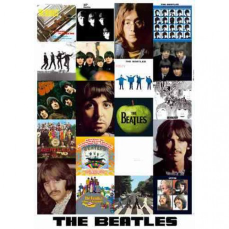 Collage The Beatles