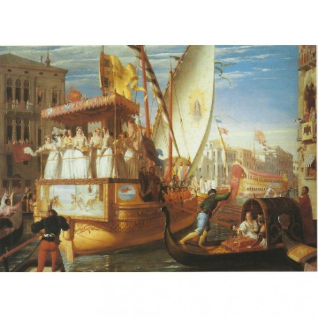 Educa Puzzle The bride of Venice being taken to the wedding 1500 piezas 11803